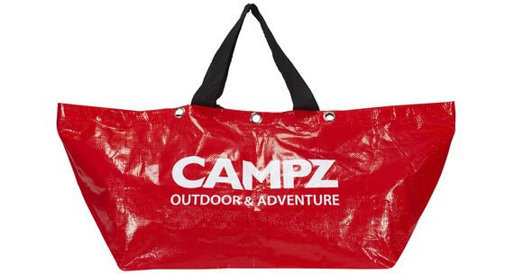 CAMPZ Abenteuer Skuldertaske rød